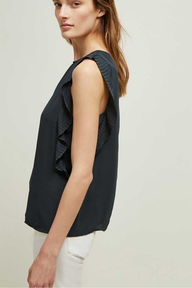 Picture of Great Plains Acacia Frill Sleeveless Top