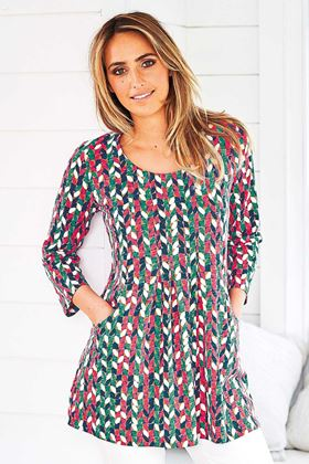 Picture of Adini Seville Print Ashley Tunic
