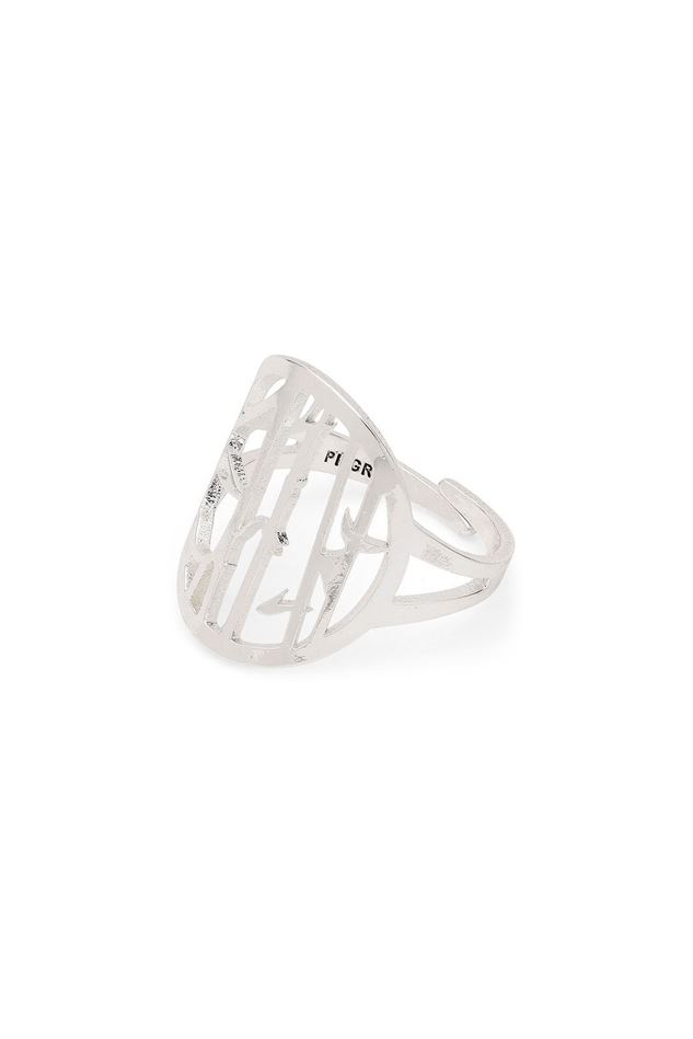 Picture of Pilgrim Kiwa Silver Plated Ring