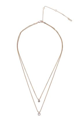 Picture of Pilgrim Lucia Rose Gold Plated Crystal Necklace