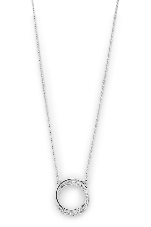 Picture of Pilgrim Tessie Silver Plated Crystal Necklace