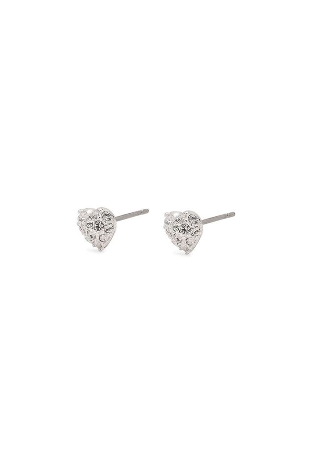 Picture of Pilgrim Eloise Silver Plated Crystal Studs