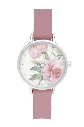 Picture of Pilgrim Clare Silver Plated Rose Watch
