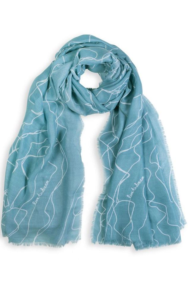 Picture of Katie Loxton Sentiment Scarf - Live to Dream
