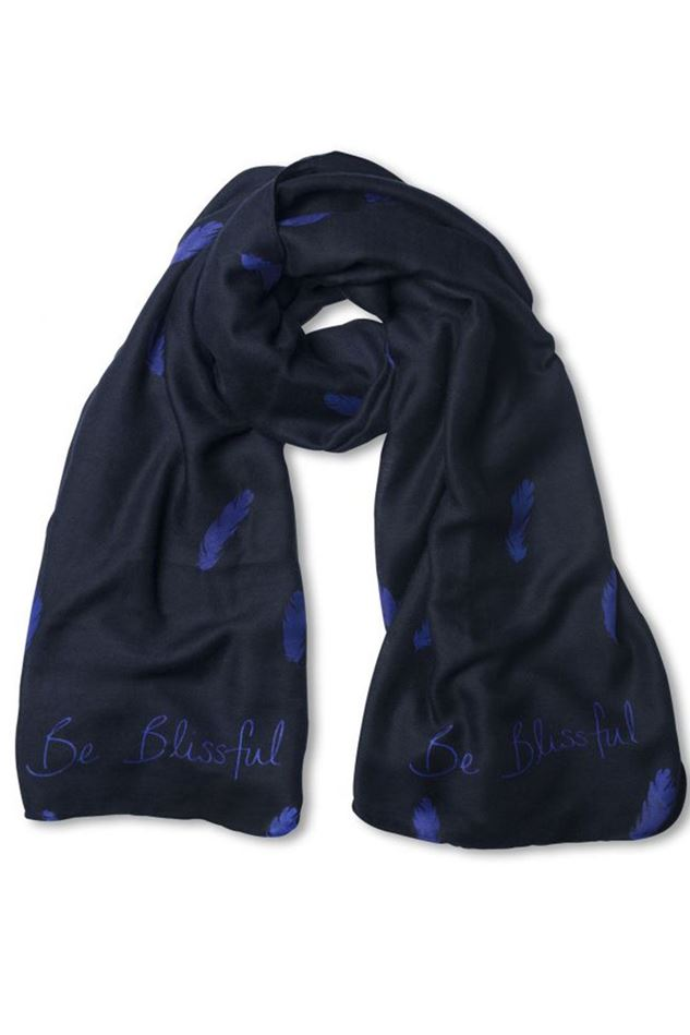 Picture of Katie Loxton Sentiment Scarf - Be Blissful