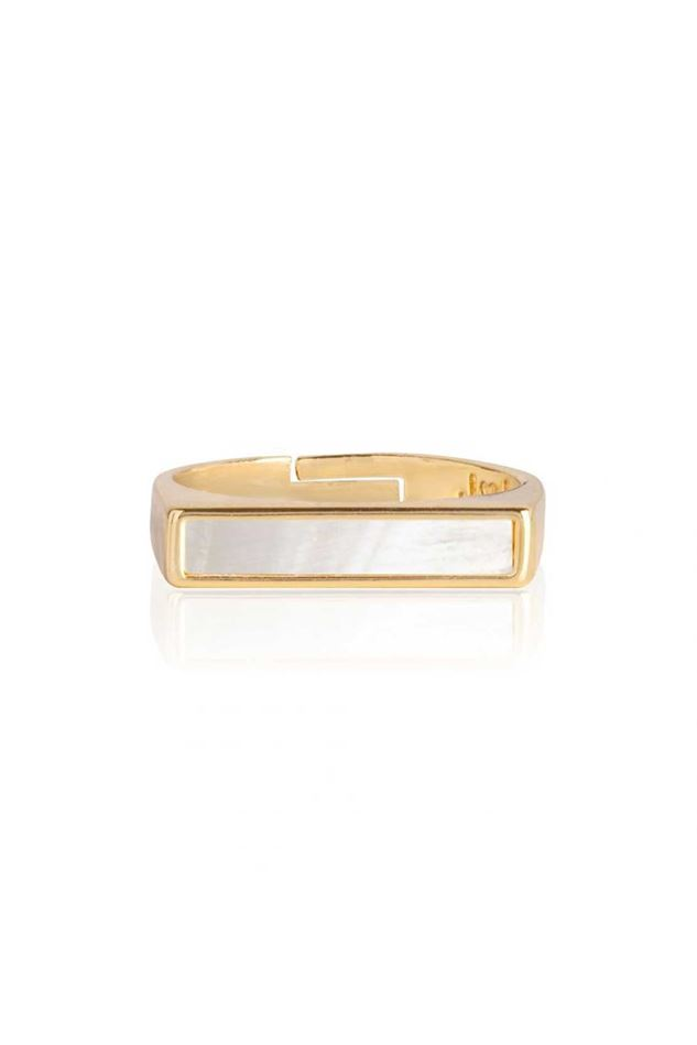 Picture of Joma Jewellery  Shona Shell Bar Ring
