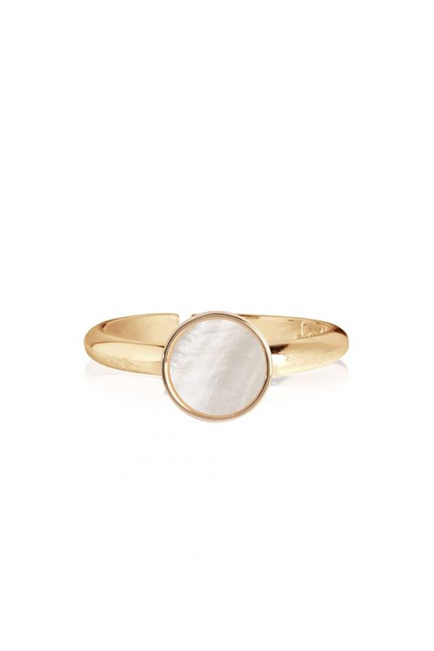 Picture of Joma Jewellery  Shona Shell Disk Ring