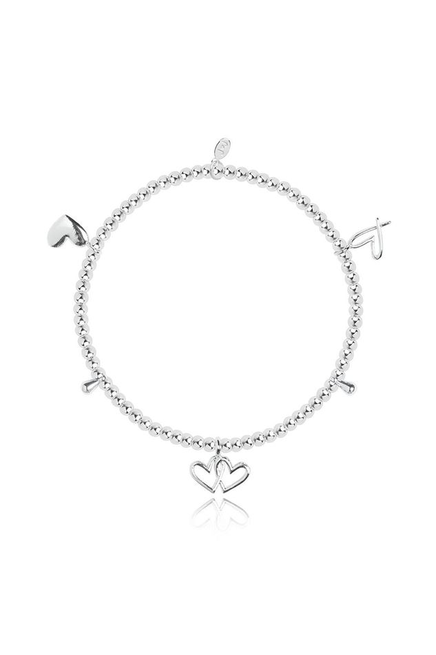 Picture of Joma Jewellery Amulet Silver Heart Bracelet