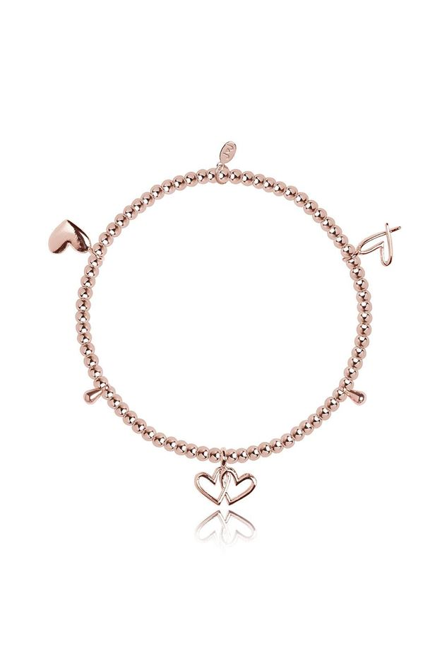 Picture of Joma Jewellery Amulet Rose Gold Heart Bracelet