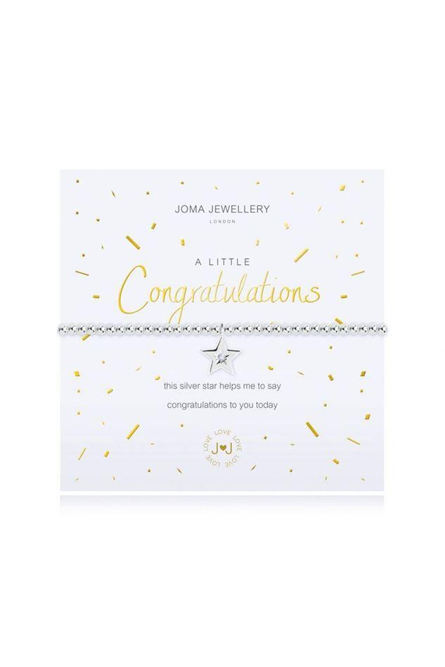 Picture of Joma Jewellery  A Little Congratulations Bracelet