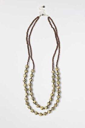 Picture of White Stuff Double Layer Sarafi Necklace