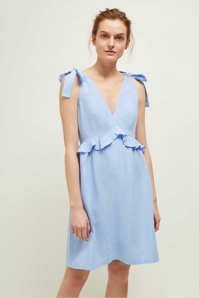 Picture of Great Plains Safi Linen Midi Dress