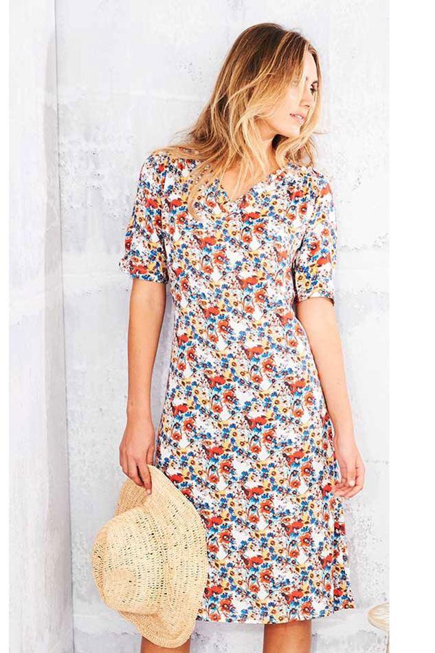 Picture of Adini Nadia Print Dress
