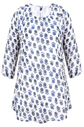 Picture of Adini Amber Print Sylvie Tunic