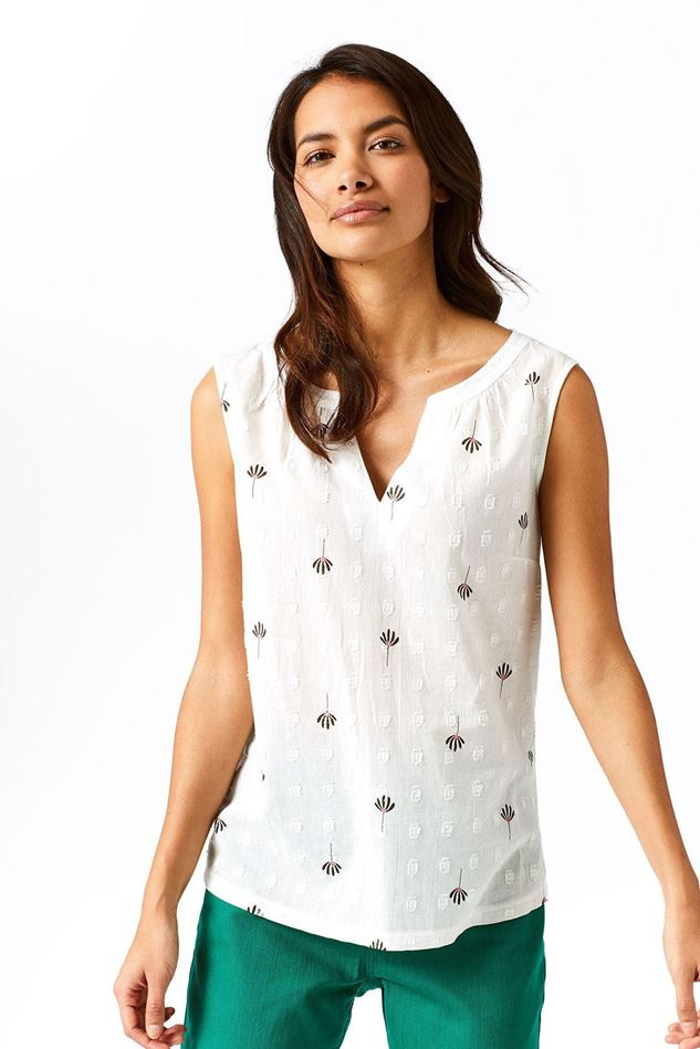 Picture of White Stuff Palm Tree Jersey Vest