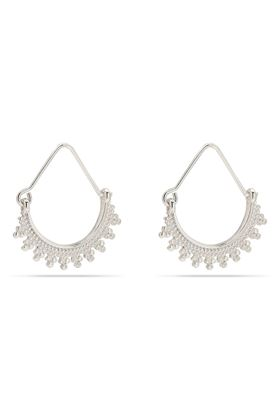 Picture of Pilgrim Kiku Silver Plated Earrings