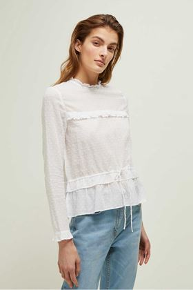 Picture of Great Plains Arizona Dobby High Neck Blouse