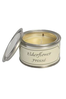 Picture of Pintail Elderflower Presse Paint Pot Candle