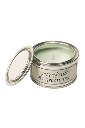 Picture of Pintail Grapefruit and Green Tea Paint Pot Candle