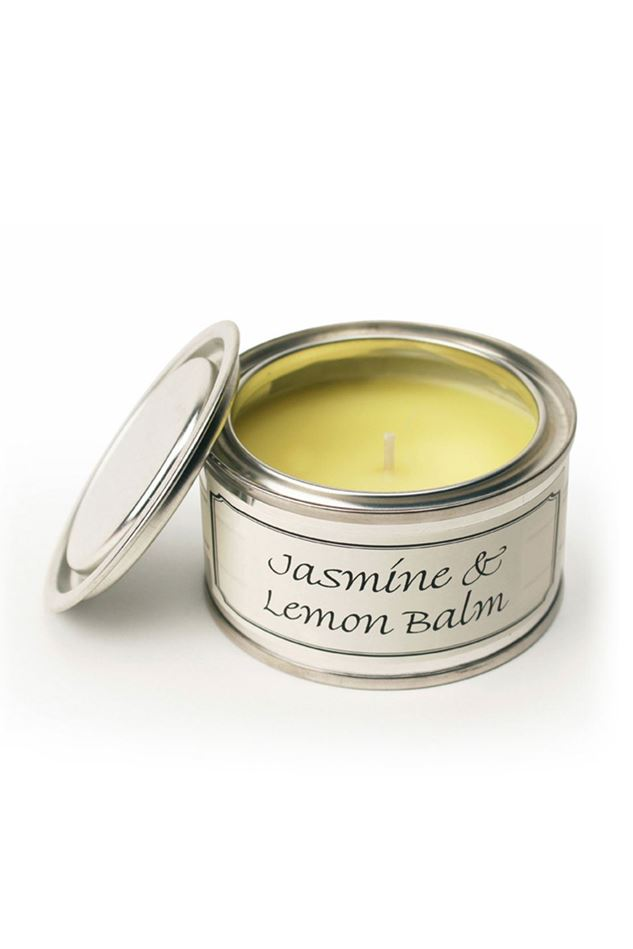 Picture of Pintail Jasmine and Lemon Balm Paint Pot Candle