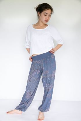 Picture of Inis Collection Paisley Harem Trouser