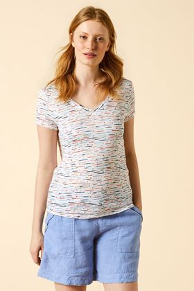 Picture of White Stuff Shore to Shore Jersey Tee