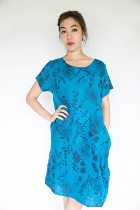 Picture of Inis Collection Dandelion Linen Dress