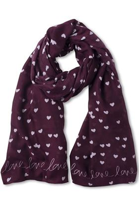 Picture of Katie Loxton Sentiment Scarf - Love Love Love