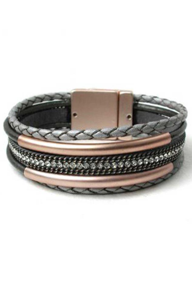 Picture of POM Multi Strand Plaited Bracelet