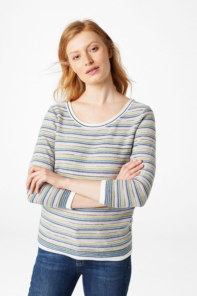 Picture of White Stuff Misty Lake Stripe Jumper