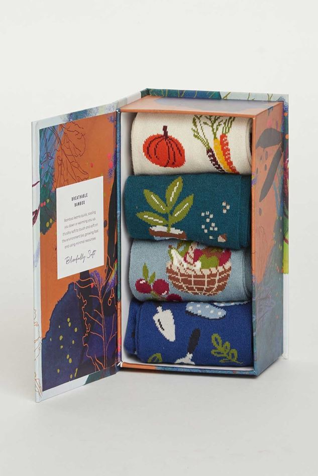 Picture of Thought Allotment Sock Box