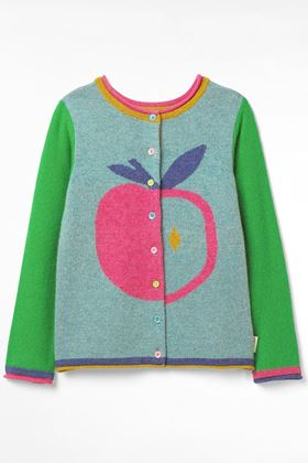 Picture of White Stuff Kids Alice Apple  2in1 Cardi Jumper