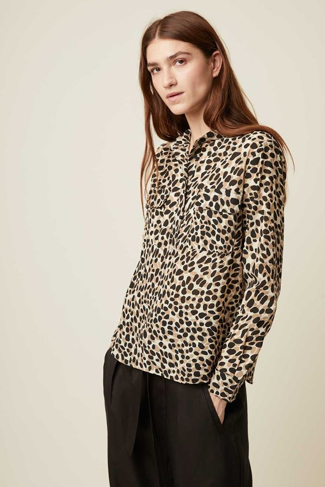 Picture of Great Plains Cara Leopard Print Shirt