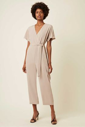 Picture of Great Plains Easy Drape Belted Wrap Jumpsuit