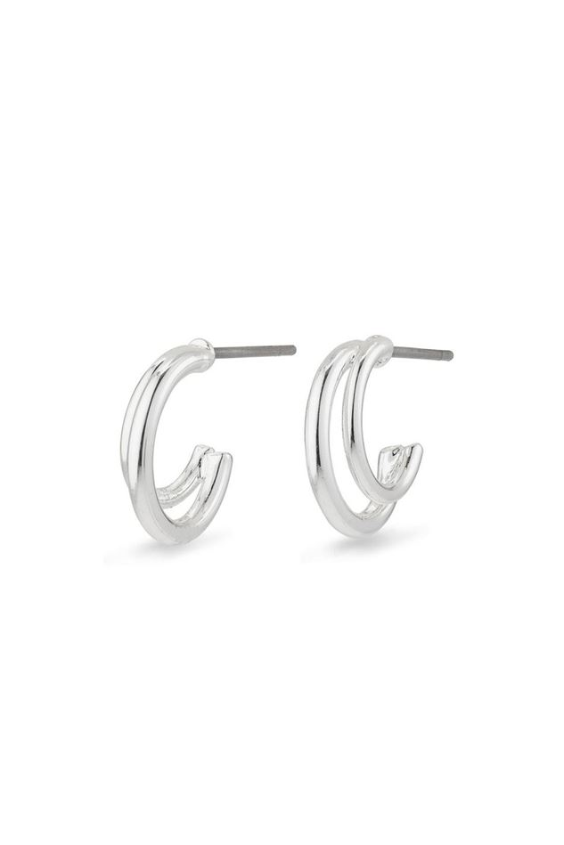 Picture of Pilgrim Jezebel Silver Plated Earrings