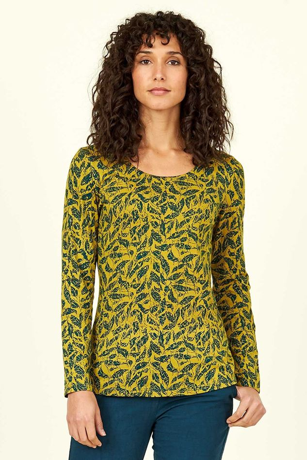 Picture of Nomads Organic Cotton Long Sleeve Printed Top