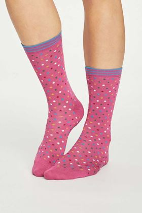 Picture of Thought Dotty Bamboo Socks