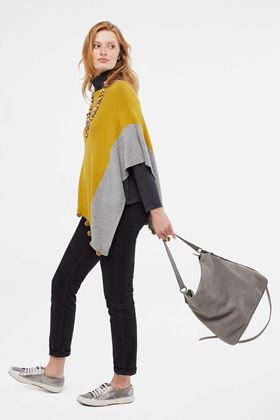 Picture of White Stuff Penelope Colour Block Poncho