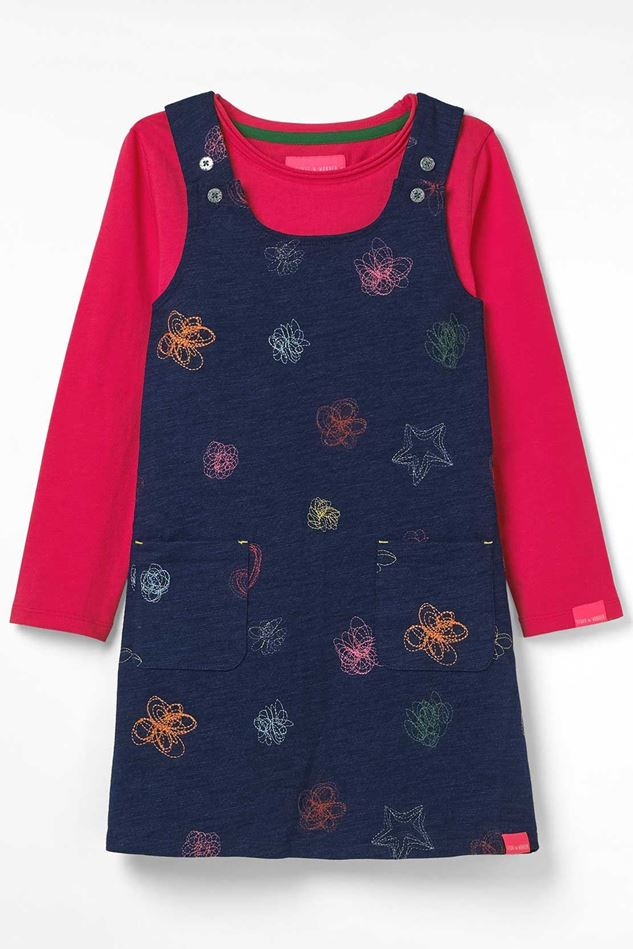 Picture of White Stuff Kids Polly Jersey Pinny Dress