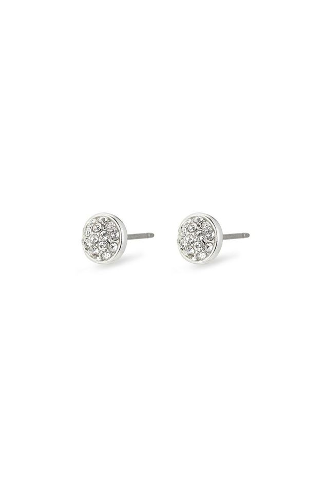 Picture of Pilgrim Heather Silver Plated Crystal Earrings