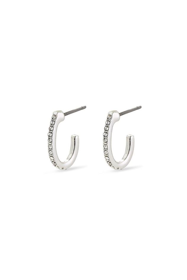 Picture of Pilgrim Delia Silver Plated Crystal Earrings