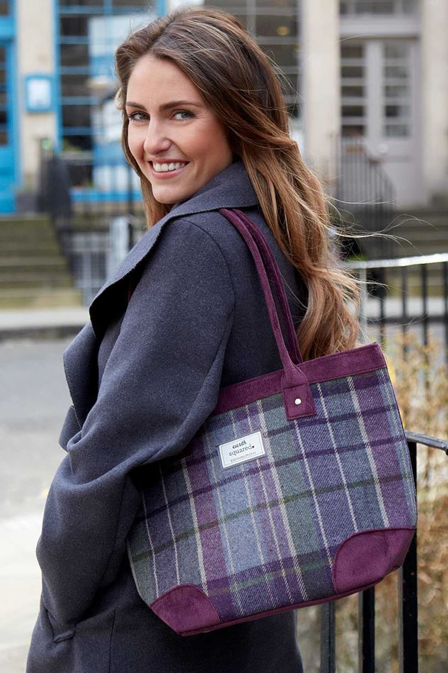 Picture of Earth Squared Tweed Tote Bag