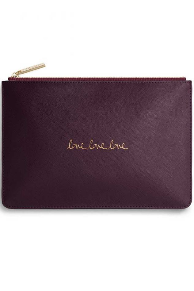 Picture of Katie Loxton Perfect Pouch - Love Love Love