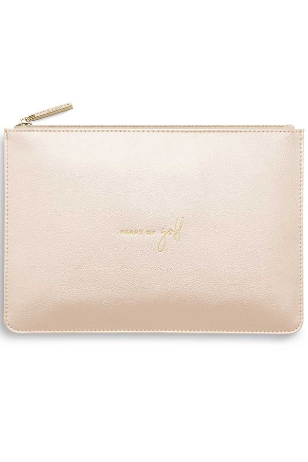 Picture of Katie Loxton Perfect Pouch - Heart Of Gold