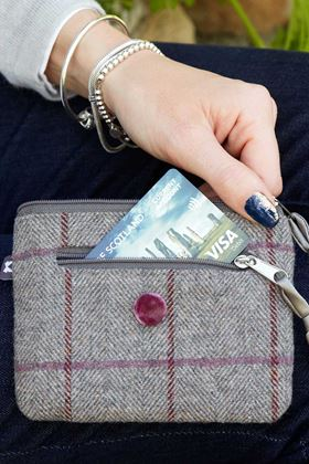 Picture of Earth Squared Heritage Tweed Emily Purse