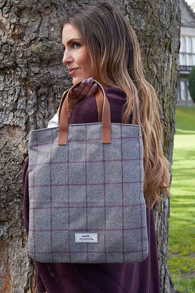 Picture of Earth Squared Heritage Tweed Harriet Bag