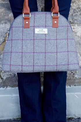Picture of Earth Squared Heritage Tweed Phoebe Bag