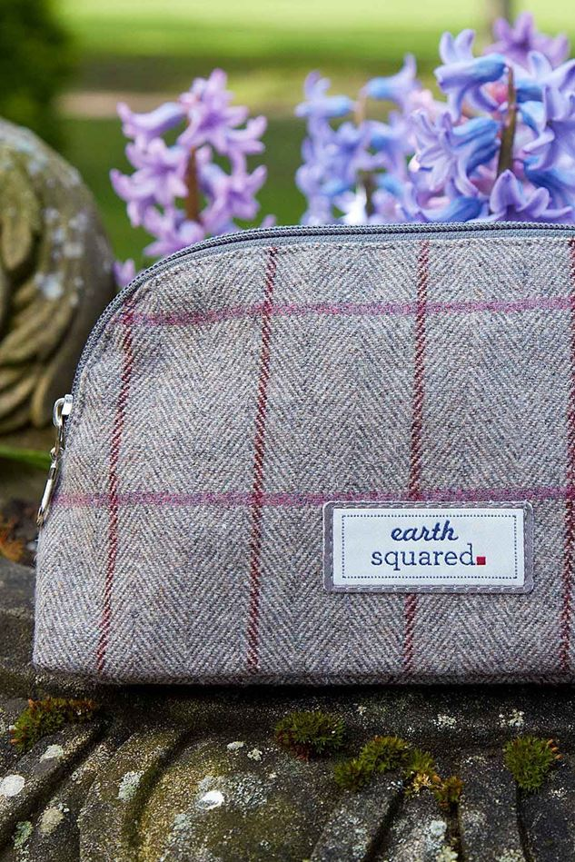 Picture of Earth Squared Heritage Tweed Make Up Bag
