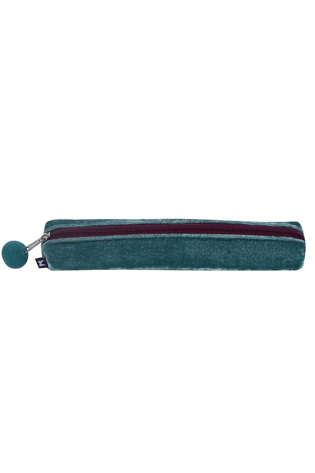 Picture of Earth Squared Velvet Pencil Case