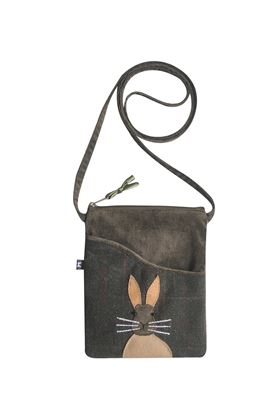 Picture of Earth Squared Hare Animal Applique Sling Bag